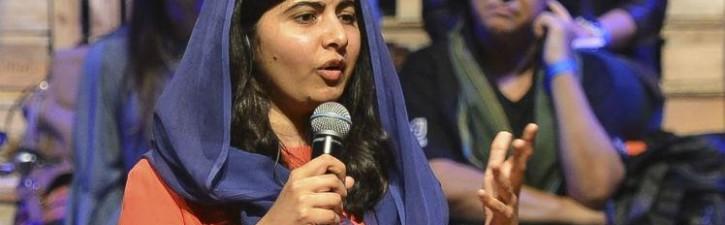 A visita de Malala ao Brasil e sua luta pela educação.